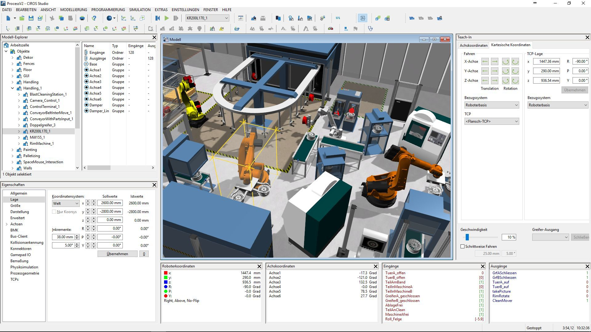CIROS Studio for 3D Factory Simulation - VEROSIM Solutions